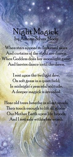 Book of Shadows: #BOS Night Magick page. - Pinned by The Mystic's Emporium on Etsy.