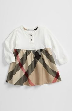 93811aad Burberry Check Print Dress (Toddler) | Nordstrom. Burberry KidsBurberry  DressBurberry Baby ...