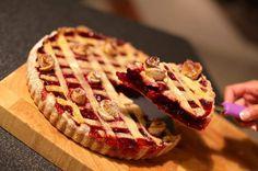 Szafi Fitt gluténmentes, szénhidrát csökkentett   paleo meggyes pite