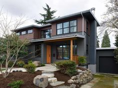 A Second Story Addition And First Floor Renovation Of 1940s Home Transforms Traditional Divided