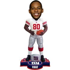 Who doesn't love a bobblehead? Remember the game with this #NewYorkGiants #SuperBowlXLVI Champs Victor Cruz Bobblehead!