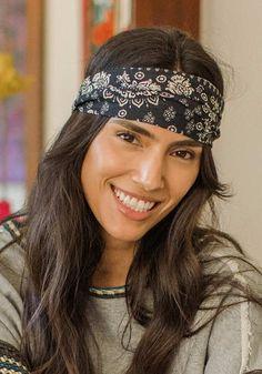 Mandala Half Boho Bandeau™ - Natural Life Boho Headband, Headbands, Get Happy, Outfit Maker, Bad Hair Day, Natural Life, Black Cream, Cool Hairstyles, Mandala