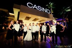 Amber and Bill's Vintage Vegas Wedding | Red Rock Casino