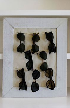 My sunglasses were piling up in a big chaos, so I really had to find a solution. I chose a very simple one that you can see in the picture above, but I wanted to share some other DIY ideas that I found while browsing the internet. Make your sunglasses shiiiiiine in your room with … … Weiterlesen →