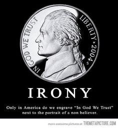American Irony…
