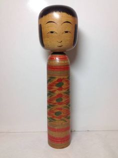 "Sato Bunroku 佐藤文六 (1880-1950), Master Sato Bunji, 30.5 cm | ""1941, at 62 years"" Kokeshi Dolls, Bottle Opener, Auction, Traditional, Vintage, Key Bottle Opener, Bottle Openers, Vintage Comics, Primitive"