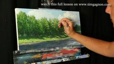 Acrylic Painting Lessons, Painting Videos, Online Lessons, Art Lessons, Landscape Art, Landscape Paintings, Selling Art, Learn To Paint, Drawing Reference