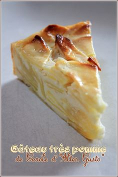 gâteau pommes ricotta