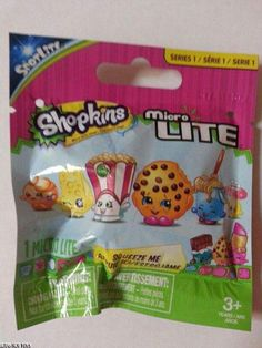 Shopkins Series 1 Micro Lite NEW unopened Blind Bag Shopkins World, Looks Cool, Princess Party, New Toys, Christmas Projects, Blinds, Lunch Box, Lip Balm, Birthday