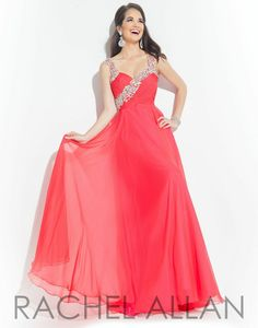 New for PROM 2015! Rachel Allan gown style 2828 at B.loved Boutique. #blovedprom #fashionfoward #prom2015 #love www.blovedfashions.com