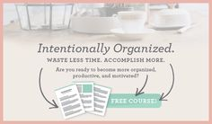 Welcome, friend! I am so thrilled that you are here!I am also thrilled that I have found a kindred spirit– I love to organize, and if you're on this page, I bet you do too! Nothing beats a beautiful, organized and functional space! Ifyou're in an organizing rut and looking for some ways to get...