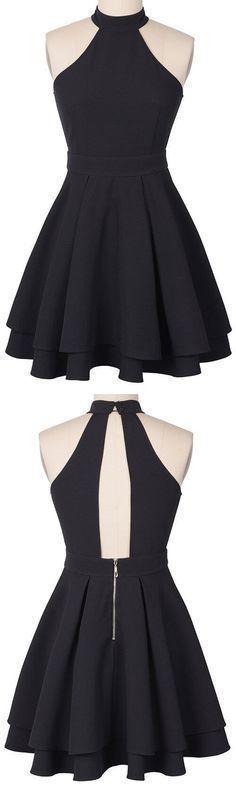 Vestido lindo #homecomingdresses