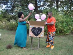 Co-Ed baby shower gender reveal!