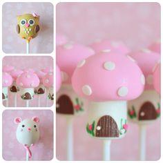 Toadstool Cake Pops