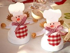 Image result for terra cotta clay pot christmas village