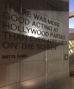 We didn't visit any Hoolywood studio, but we did come across this awesome quote at he LAX airport #LosAngeles #California #Airport #LAX #USA #RTW #JulesVernex2
