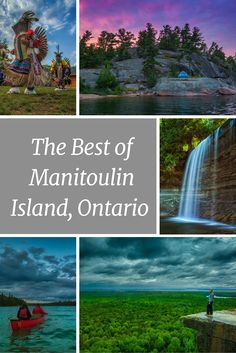 holiday trip Our top picks for what things to do on Manitoulin Island. Part of the Niagara Escarpment, Manitoulin offers amazing nature and cultural experiences, Places To Travel, Places To See, Travel Destinations, Camping Places, Camping Life, Camping Gear, Quebec, Manitoulin Island, Toronto