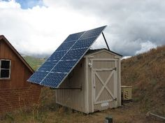 Solar Panels gives you power for off grid living when combined with battery banks, charge controller and inverter.