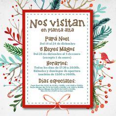 Disfruta la magia de la Navidad en Zielo Shopping Pozuelo, nos visitan Papá Noel y los tres Reyes Magos. Del 18 de diciembre y hasta el 5 de enero los peques podrán contarles sus deseos y entregarles las cartas de regalos Papá Noel y sus Majestades recibirán a los niños en la pasarela de planta alta durante estas fiestas bit.ly/PapaNoelyReyesMagosZielo #Zielo #PapáNoel #ReyesMagos #Christmas