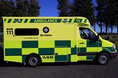 St John has rolled out the first of their yellow ambulances in New Zealand, in a move to improve safety for staff, patients and the public. Nursing School Graduation, Nursing School Tips, Nursing Schools, Nursing Students, Medical Students, Ob Nursing, Pharmacology Nursing, Endocrine System, Emergency Vehicles