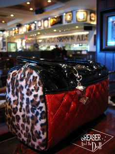 The ultimate Rockabilly bag: Lux de Ville Tote - The Greaser and the Doll