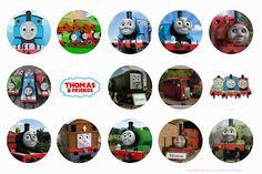 Free Thomas the Tank Engine & Friends digital bottle cap images