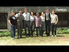 """June 9, 2015: Eitb talks to the protagonists of the film """"Gernika"""" by Koldo Serra (They have kindly uploaded it to youtube for our benefit)"""