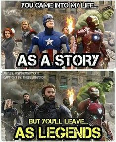 The avengers are more than a story. They are legen… – – James The avengers are more than a story. They are legen… – The avengers are more than a story. They are legen… – Marvel Dc Comics, Marvel Avengers, Captain Marvel, Marvel Films, Marvel Heroes, Avengers Story, Baby Avengers, Marvel Art, Avengers Humor