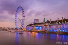 London Eye #London #Uk