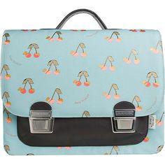 Jeune Premier - boekentas - Itbag Maxi Golden Cherries  #schoolbag #satchel #cartable #schulranzen #backtoschool #littlethingz