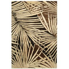 Martha Stewart Rugs Palms Coconut / Brown Contemporary Rug - - Wool Rugs - Area Rugs by Material - Area Rugs Brown Rug, Living Room Carpet, Throw Rugs, Martha Stewart, Oriental Rug, Decorating Your Home, Interior Decorating, Colorful Rugs, Palm Trees
