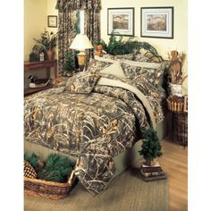 Realtree MAX-4 Camouflage bedding.