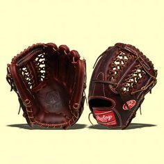 Rawlings Primo baseball glove.