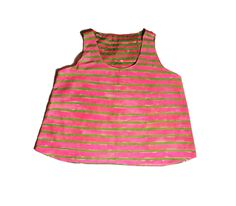 Kindah Khalidy | Hand Painted Watermelon Stripe Tank Top