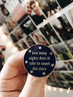 Enamel Pins, One Direction Lyrics, Infinity Lyrics, 1D Lyrics, Lapel Pins, Harry Styles, Niall Horan, Liam Payne, Louis Tomlinson, Enamel Pin