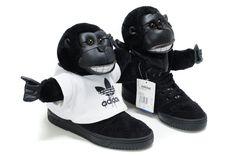 Adidas Jeremy Scott Originals JS Gorilla Shoes