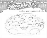 Shopkins Kooky Cookie Shoppies Coloring