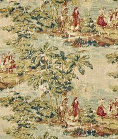 Covington Bosporus  Antique Red Fabric