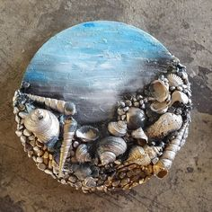 "55 Likes, 1 Comments - Dina Abdallah (@dinaabdallah_art) on Instagram: ""#seashellart#handmade#seashells#realshells"""
