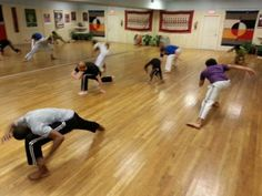 Capoeira with Eme Eme at the Global Education Center in Nashville,  TN
