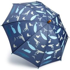 Hatley Boys 2-7 Whales Umbrella, Shipshape Navy, One Size Hatley. Save 5 Off!. $18.99