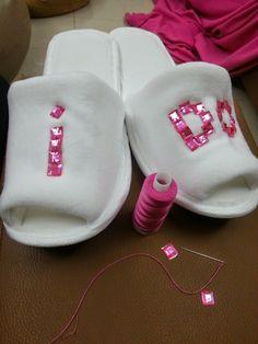 De mi para el mundo: Hazlo Tú Misma pantuflas para futuras novias
