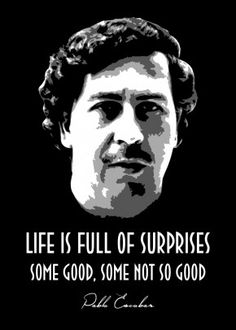 Pablo Escobar poster by from collection. By buying 1 Displate, you plant 1 tree. Pablo Escobar Poster, Pablo Escobar Quotes, Don Pablo Escobar, Pablo Emilio Escobar, Narcos Quotes, 2pac Quotes, Bts Quotes, Narcos Escobar, Movie Quotes