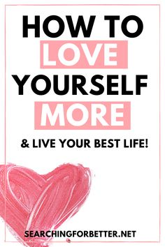 Learn how to love yourself more with this list of 6 simple things we can do. This list is a short but empowering way to find more self love. Building Self Confidence, Self Confidence Tips, Grace Quotes, Self Love Quotes, Love Journal, Self Love Affirmations, Positive Self Talk, Love Challenge, Learning To Love Yourself