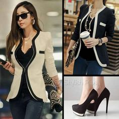 Classy professional look!