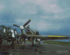Ww2 Aircraft, Fighter Aircraft, Military Aircraft, Fighter Jets, Hawker Hurricane, Aircraft Maintenance, Ww2 Planes, Royal Air Force, Aviation Art