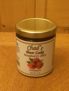 Our new Chad's Seedless Raspberry Jelly. Just Raspberries, sugar and fruit pectin. Seeds removed off course. Great flavor. Perfect for toast, bagels, rolls and more, like pancakes, waffles, French toast, ice cream, pound cake.   You tell us how you use it. http://sheffieldspices.com/?p=6195