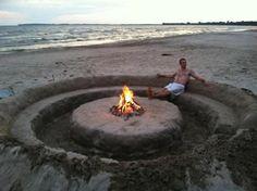 Beach Bon fire