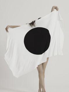 "cvsfhmere: ""themaxdavis: "" Nippon from UEG "" cvshfmere. Black N White, Black Dots, Big Black, Women Civil Rights, Cyberpunk, Monochrome Interior, Garment District, Black Smoke, Fashion Colours"
