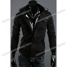 Hot Sale Fall Fashion Villus Long Sleeves Cotton Blend Hoodie For Men